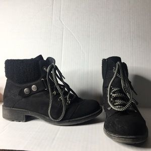 American Rag Harvey black hiking boots. Size 9.5